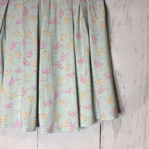 Flamingo skirt with pockets
